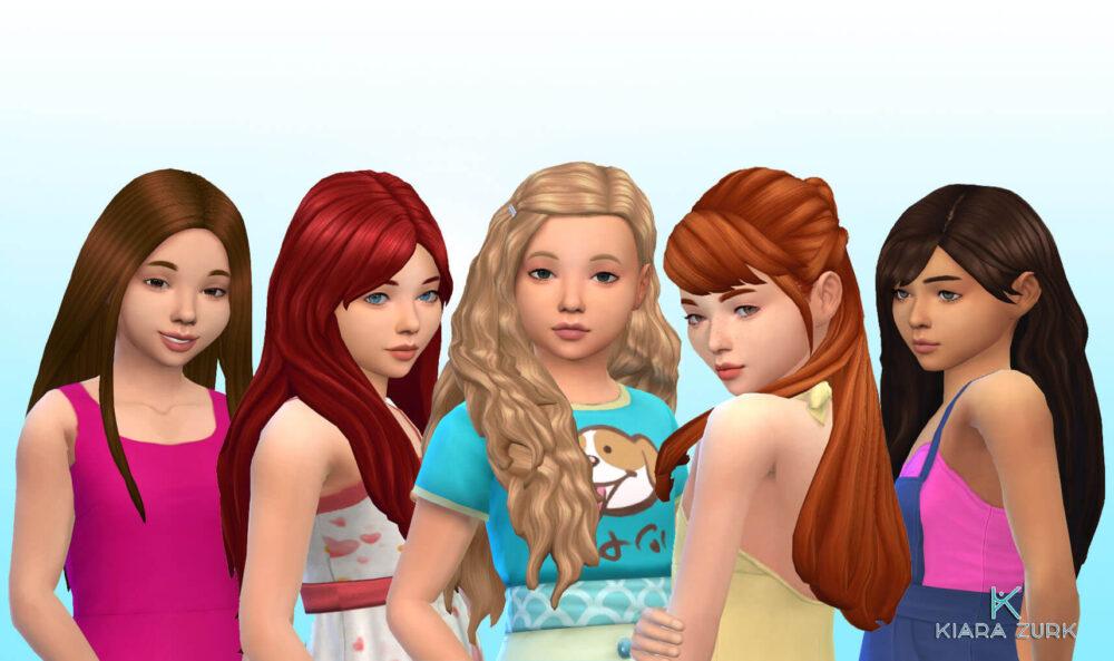 Girls Long Hair Pack 27