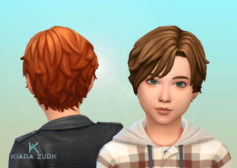 Romano Vargas Hairstyle for Kids