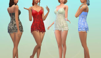 TS3 Romantic Baby doll Lace