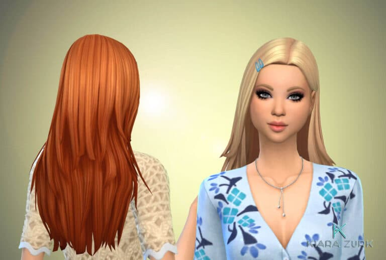 Monica Hairstyle + Clips