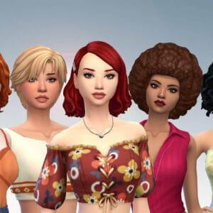 Female Medium Hair Pack 22