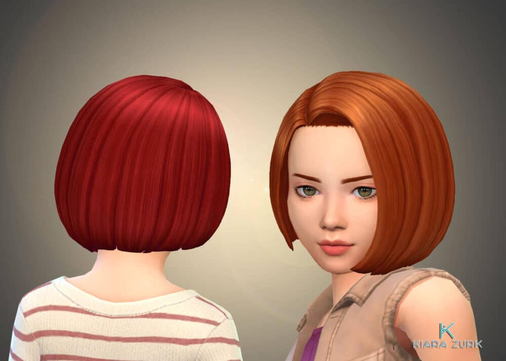 Gaby Hairstyle for Girls
