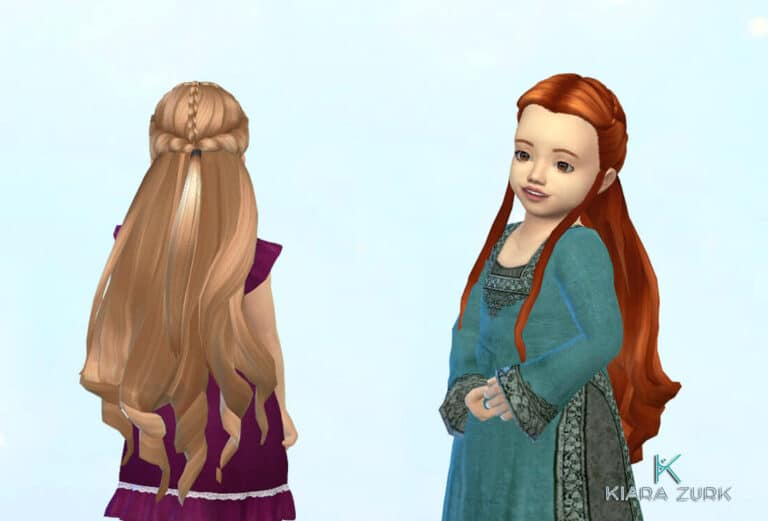Tauriel Hairstyle for Toddlers