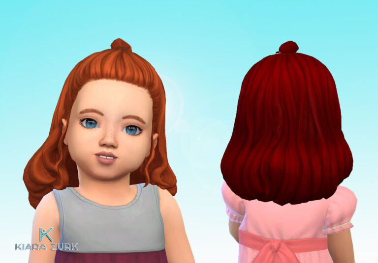 Agnes Hairstyle for Toddlers 💕