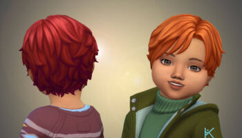 Romano Vargas Hairstyle for Toddlers 💕