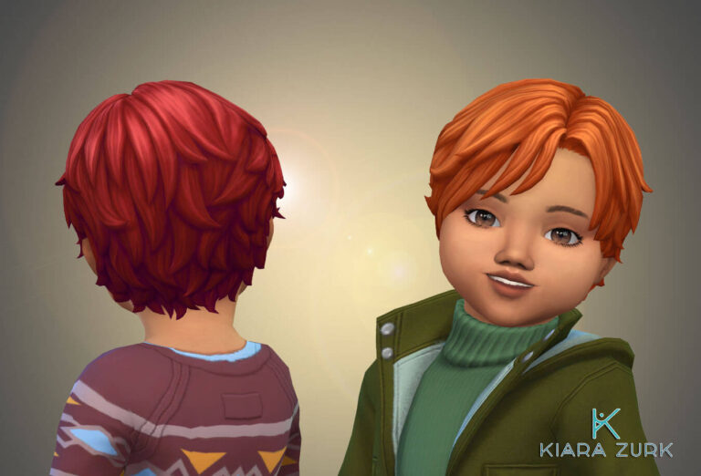 Romano Vargas Hairstyle for Toddlers