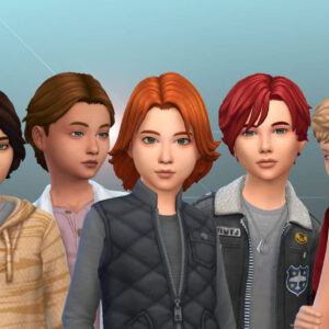 Boys Hair Pack 13