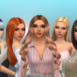 Female Long Hair Pack 35
