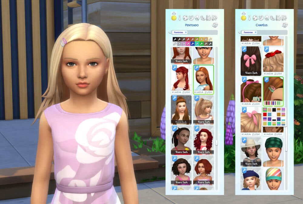 Monica Hairstyle for Girls + Clips