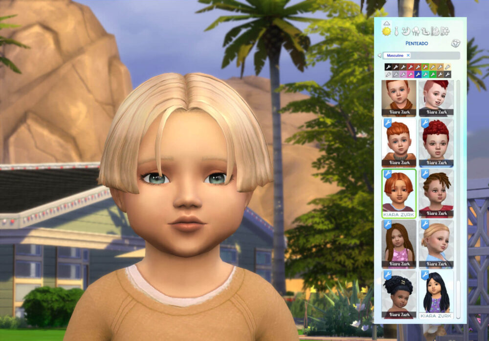 Dylan Hairstyle for Toddlers