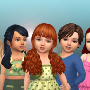 Toddlers Hair Pack 43