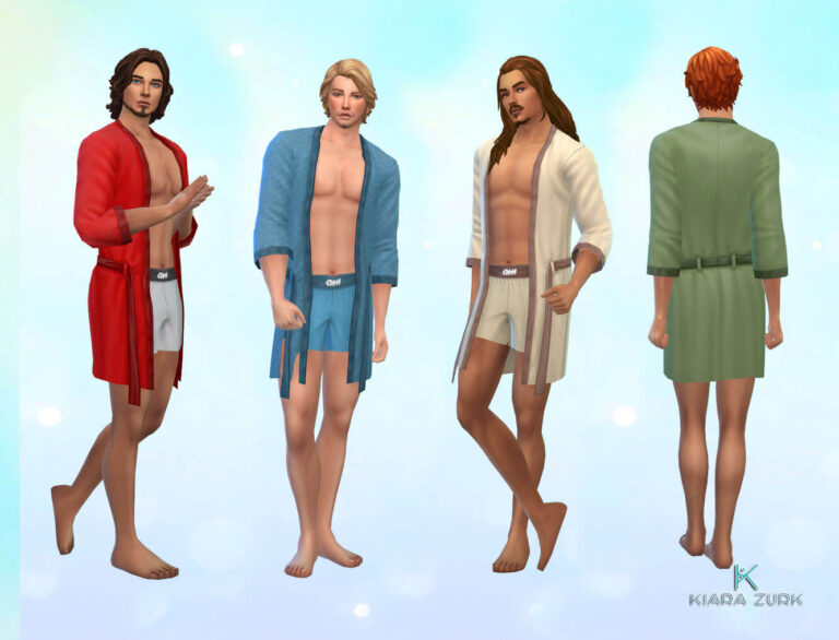 TS3 Romantic Robe 💕