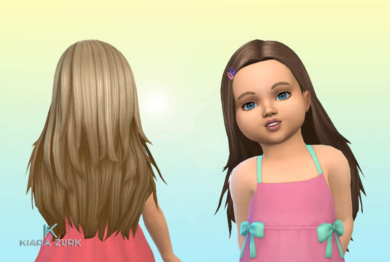 Monica Hairstyle for Toddlers