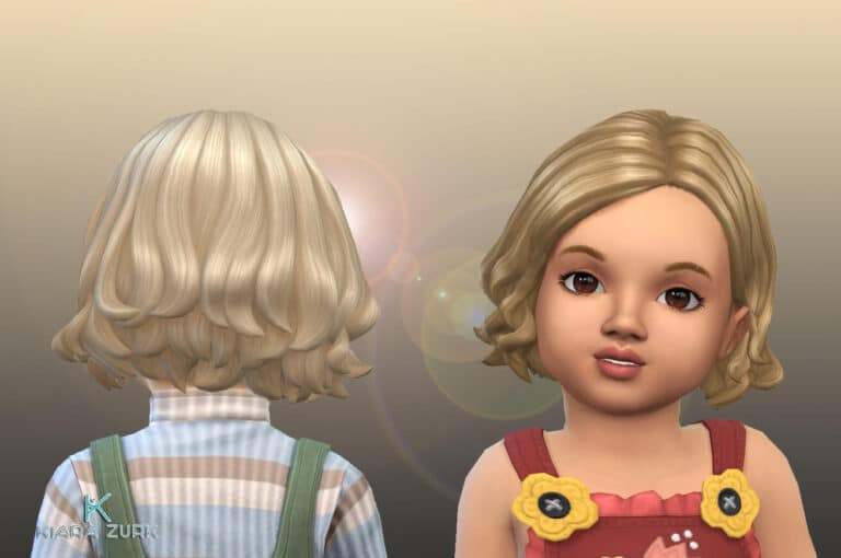Judi Hairstyle for Toddlers 💕