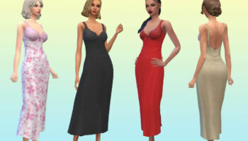 TS3 Romantic Gown 💕