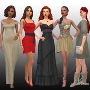 Female Dresses Pack 9