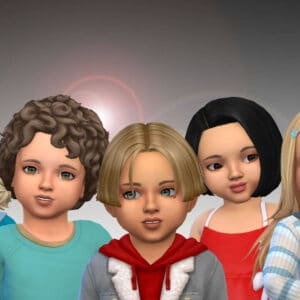 Toddlers Hair Pack 44
