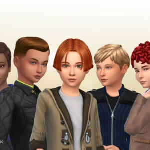 Boys Hair Pack 14