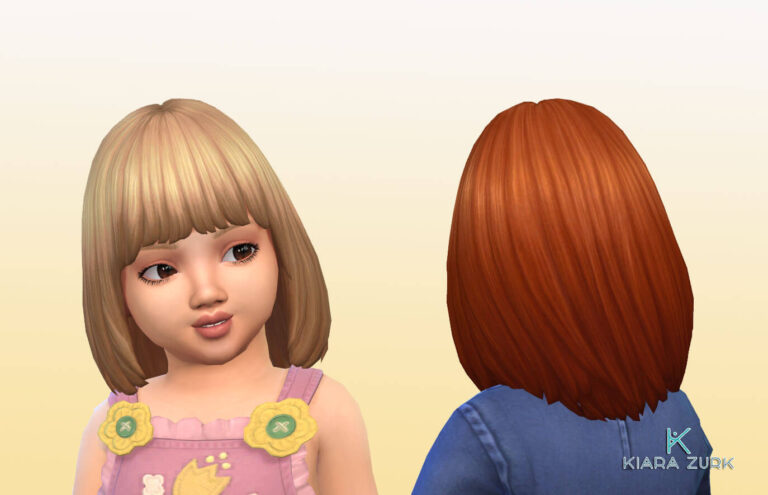 Alyssa Hairstyle for Toddlers 💕